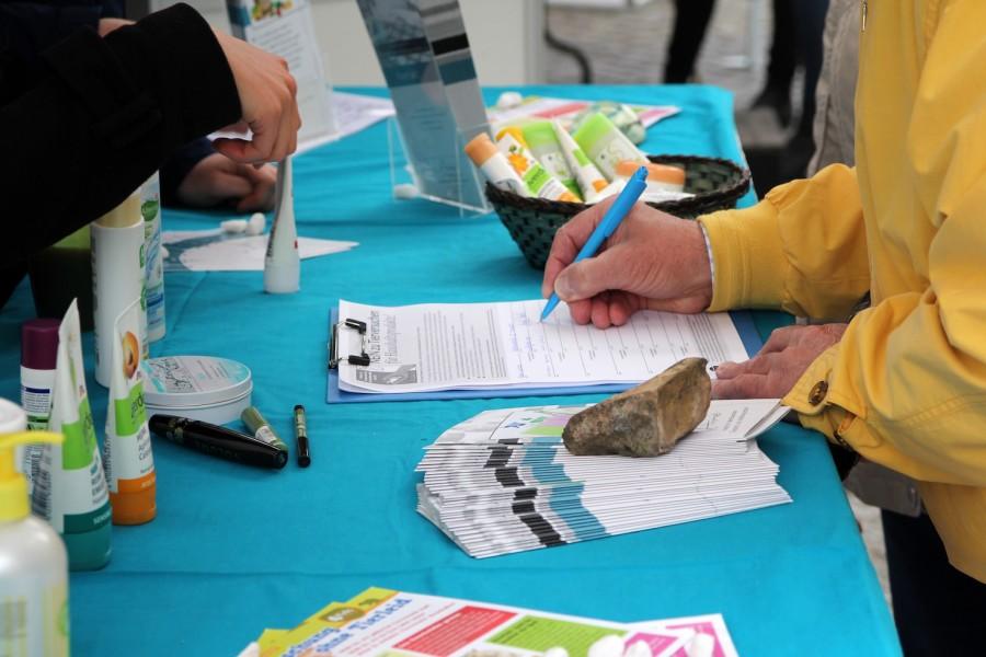 Petition gegen Tierversuche für Haushaltsprodukte