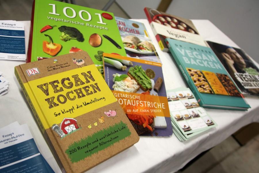 vegane Kochbücher und Rezepte