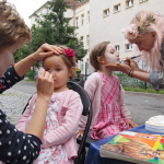 Kinderschminken auf der BRN 2016