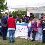 Tierschutz und vegane Crêpes auf dem 6. Trachenfest - Info- und Crêpesstand