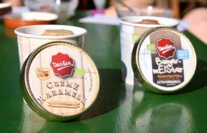 veganes Milcheis: Das Eis. - Creme Karamell und BurgermEISter