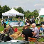 Der Anima-Stand auf dem gut besuchten Trachenfest